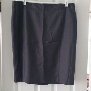 Merona lined pencil skirt